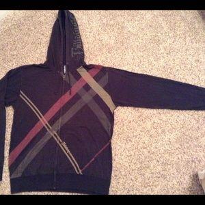 Young men's zip down hoodie